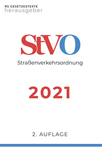 StVO 2021: Straßenverkehrsordnung