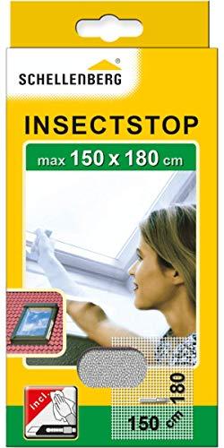 Schellenberg 50328 Fliegengitter für Dachfenster mit Reißverschluss, Insektenschutz,...