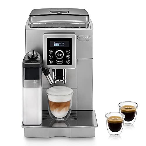 De'Longhi ECAM 23.466.S Kaffeevollautomat mit LatteCrema Milchsystem, Cappuccino und Espresso auf...