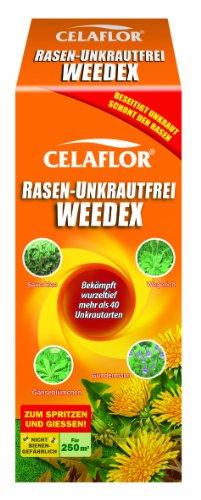 Celaflor Rasen-Unkrautfrei Weedex, Hochwirksamer Unkrautvernichter zur Bekämpfung von schwer...
