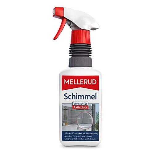 MELLERUD Schimmel Vernichter Aktivchlor – Hocheffektives Spray zur Schimmelentfernung auf Fliesen,...