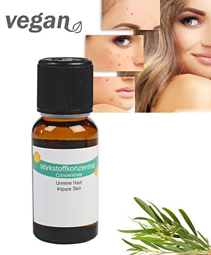 TEEBAUMÖL 100% naturrein & kaltgepresst mit Lavendel Geranie 20ml gegen Akne Pickel Mittesser...