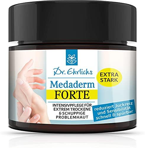 Dr. Ehrlichs Medaderm Forte 100 ml - Intensiv Pflege Salbe, Neurodermitis Creme bei extrem trockener...