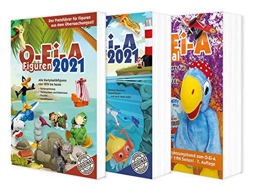 Das O-Ei-A 3er Bundle 2021 - O-Ei-A Figuren, O-Ei-A Spielzeug und O-Ei-A Spezial im 3er-Pack mit...